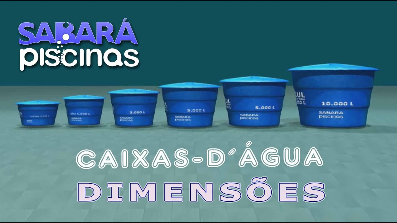 Caixas D Agua 1000 A 10000 Litros Em Fibra De Vidro Dimensoes E