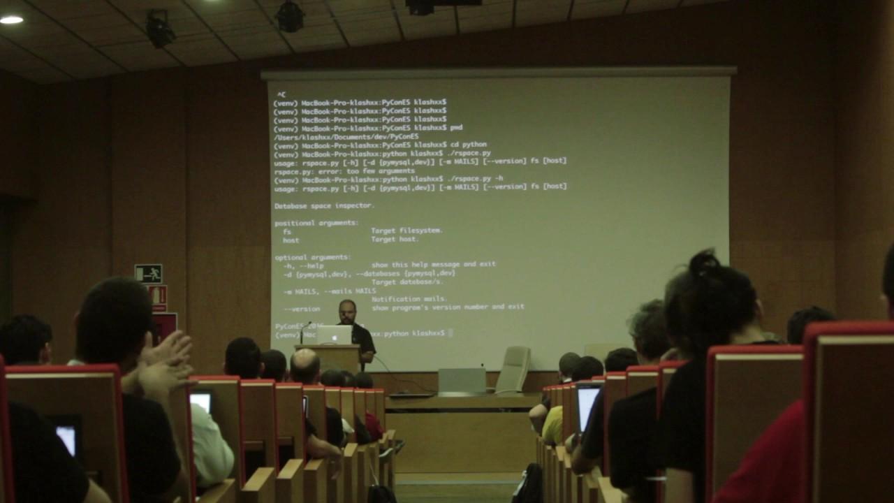 Image from Python o cómo mejorar la vida de un administrador de sistemas