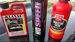 Testing polishes on a 234k mile black car - Part 1 | HD Speed | Klasse | Correcting C