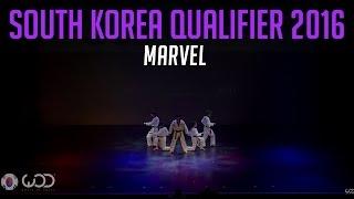 MARVEL | Upper Division | World of Dance South Korea Qualifier 2016 | #WODKOR16