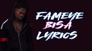 Fameye - bisa lyrics Video