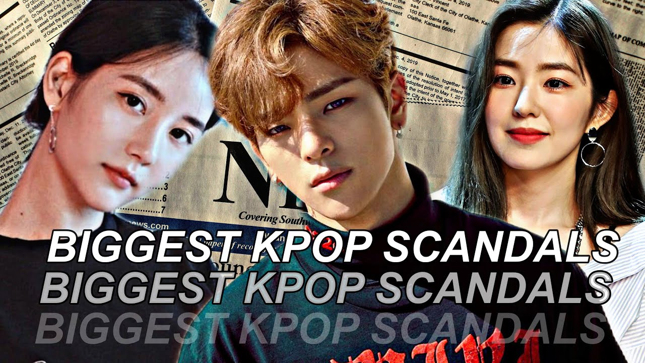 Biggest Kpop Scandals of All time