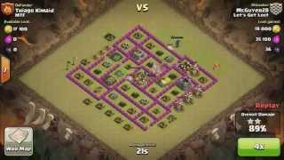 Clash of Clans - War Recap #8 - Let's Get Lost vs. MTF