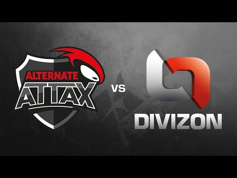 ALTERNATE aTTaX vs. DIVIZON - ESL Wintermeisterschaft 2017 - Train