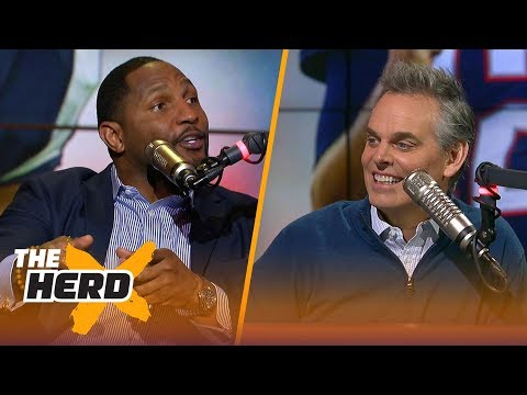 Ray Lewis talks Big Ben's legacy and previews Saints-Vikings | THE HERD