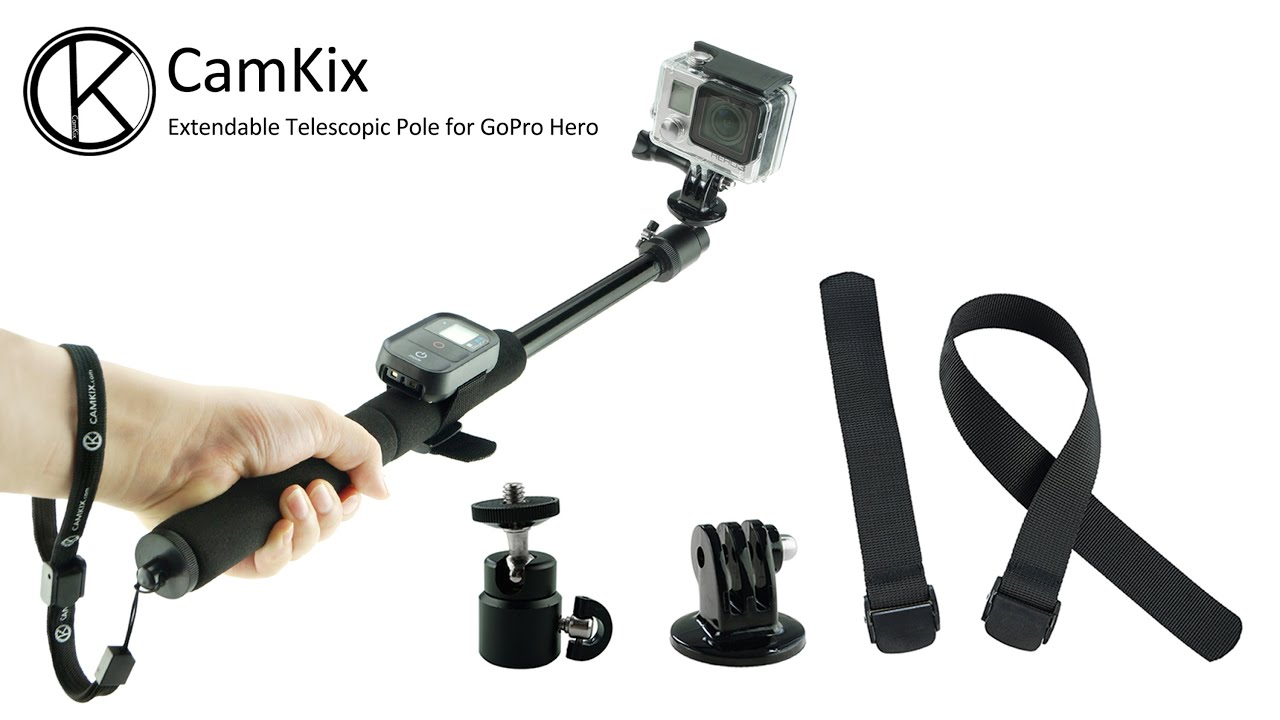 CamKix GoPro Accessories: Extension Pole for GoPro Hero 1 ...