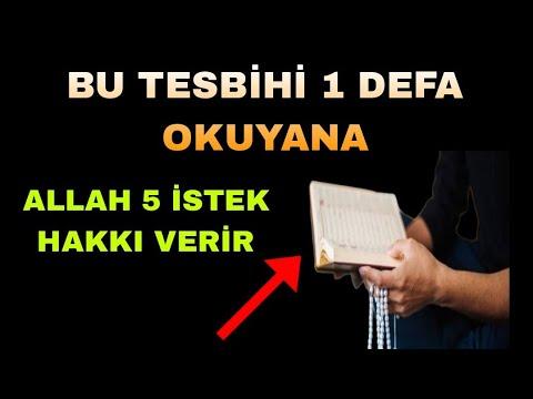 Tesbihat ve Dua Nasıl Yapılır? (Kız)