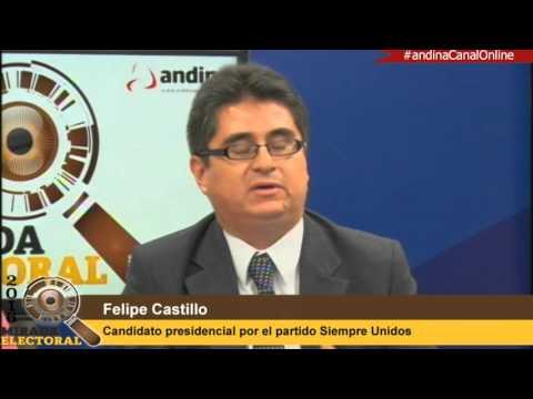 """Felipe Castillo: Combatiremos la corrupción con un """"data center"""""""
