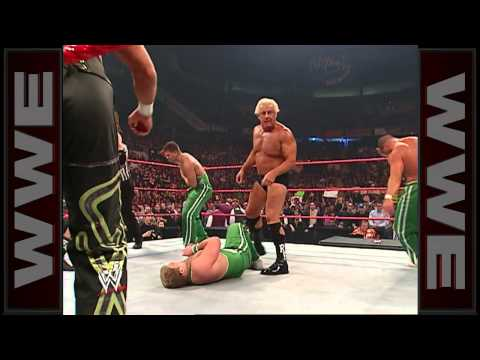 Ric Flair, Shawn Michaels & Triple H Defeat The Spirit Squad With The Figure Four: Raw, Nov. 27, 200