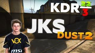 jks de_dust2 KDR 22/3
