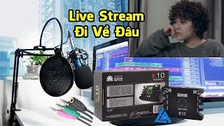 Đi Về Đâu - Tiên Tiên - Micro Thu Âm BM 800 - Sound Card XOX K10 - Dây Live Stream