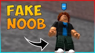 FAKE NOOB TROLLING #2 | Roblox Super power training simulator