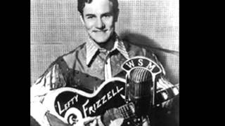 "Lefty Frizzell.... ""Saginaw Michigan"" - 1964"