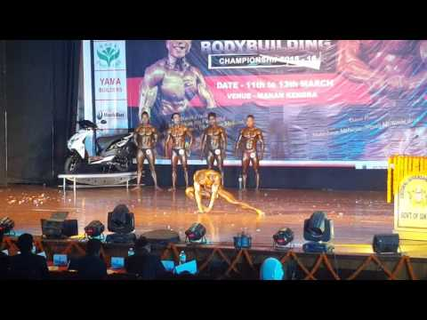 60kg music posing on eastern india 2016..(1)