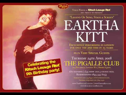 Eartha Kitt live at Kitsch Lounge Riot