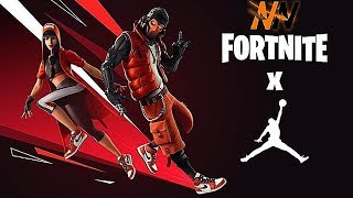 * NEW * JORDAN x FORTNITE EVENT !! + HANGTIME BUBDLE SKINS | Fortnite Battle Royale