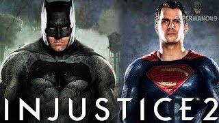 """EPIC JUSTICE LEAGUE BATMAN VS SUPERMAN! - Injustice 2: """"Batman"""" Gameplay"""
