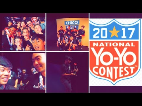 Vlog #2 - National Yoyo Contest 2017