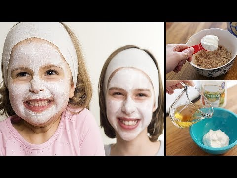 How To Make Facial Masks For Kids | Get Fair, Spotless, Glowing Skin 100% Works