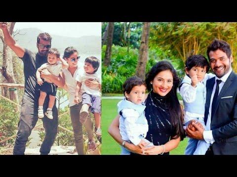 Shabbir Ahluwalia (Rockstar Abhi) Fun With Wife &  His Real Life Sons Azai And Ivaar   Omg Finally!!