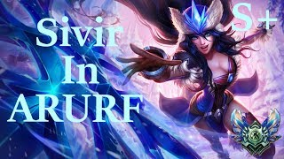 [League Of Legends] S8 PBE Snow Battle ARURF S+ Sivir Play 【英雄联盟】S8冰雪节无限火力希维尔游戏视频