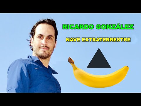 RICARDO GONZÁLEZ y la nave extraterrestre