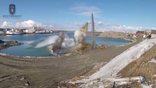 Kystverkets utbygging av Berlevåg havn