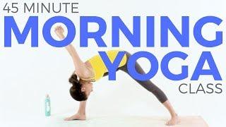 45 minute Morning Yoga Class Trailer   www.sarahbethyoga.com