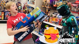FORTNITE TOY HUNTING For More Wave 2 ACTION FIGURES From Jazwares - GIVEAWAY WINNERS #FORTNITEIRL
