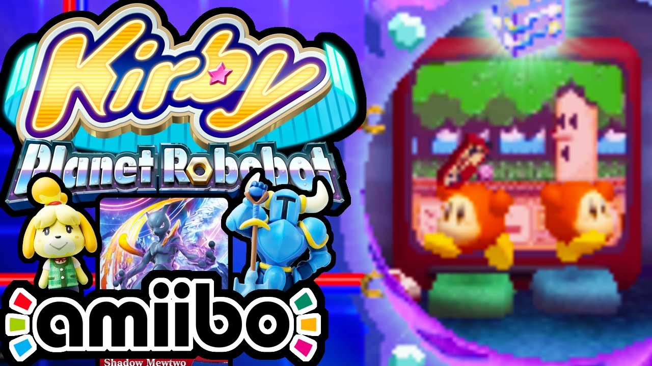 Kirby Planet Robobot PART 18 - 3DS Gameplay Walkthrough - EX Easter Eggs &  Final Code Cubes amiibo