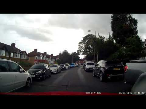 Some more British Motoring silliness caught on dashcam