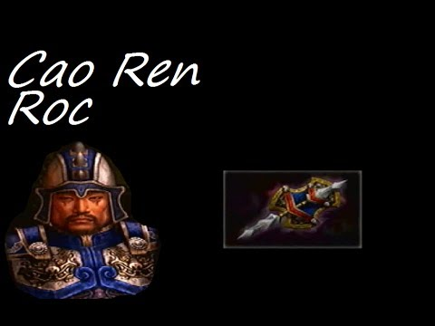 Let's Play Dynasty Warriors 4 #116 - Cao Ren Level 10 Weapon - Roc