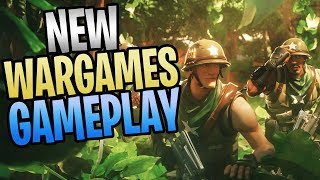 FORTNITE - New WARGAMES Game Mode Save The World Gameplay