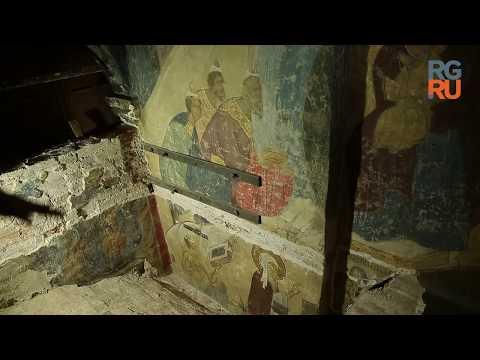 При реставрации Успенского собора Кремля нашли фрагменты росписей XV века