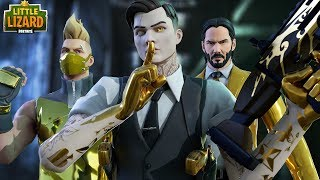 THE TRUTH ABOUT MIDAS & THE AGENCY!!! - Fortnite Short Films