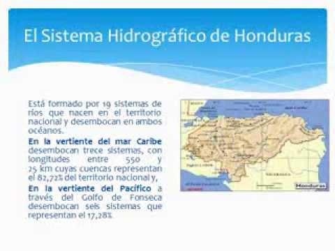 Hidrografa de Honduras  YouTube