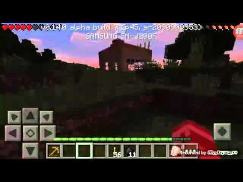 Minecraft PE survival Benim alt kattaki odam Bölüm 5