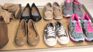 In this video from Famous Footwear we
