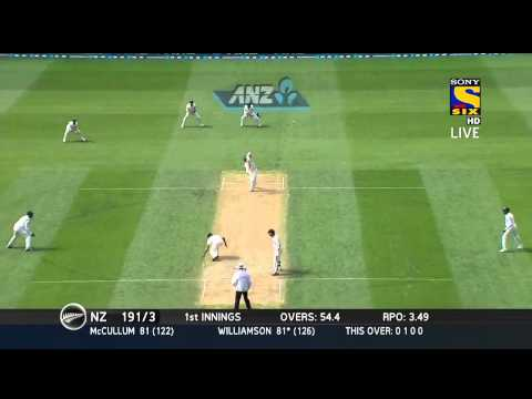 KANE WILLIAMSON SLAMS A CENTURY Highlights | MATCH 1 - NZ VS IND - DAY 1