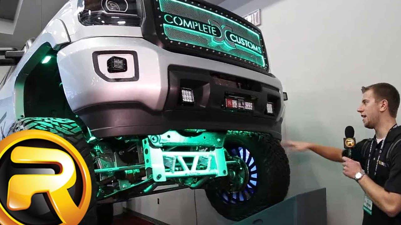 GMC Sierra Custom Truck with LED Lights from plete Customs