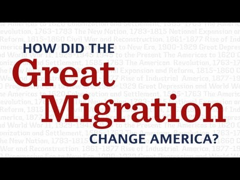 How did the Great Migration change America?