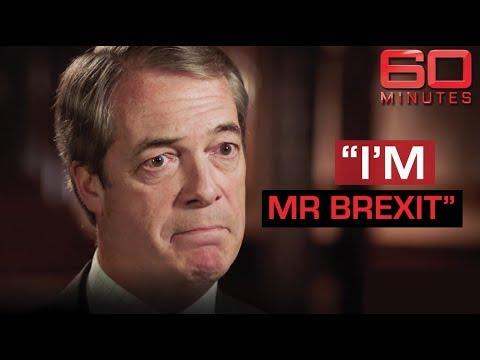 Nigel Farage defends his seat in the European Parliament | 60 Minutes Australia