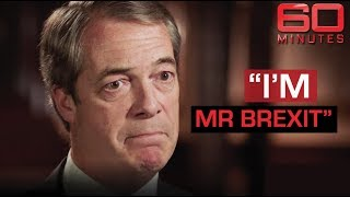 Nigel Farage defends his seat in the European Parliament | 60 Minutes Australia