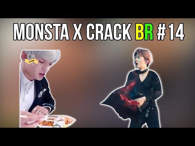MONSTA X CRACK BR #14: KIHYUN TENTA SER SEXY MAS FALHA E MINHYUK TRISTE COM O PEPINO
