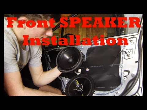 How to Install Front Speakers: Honda Civic