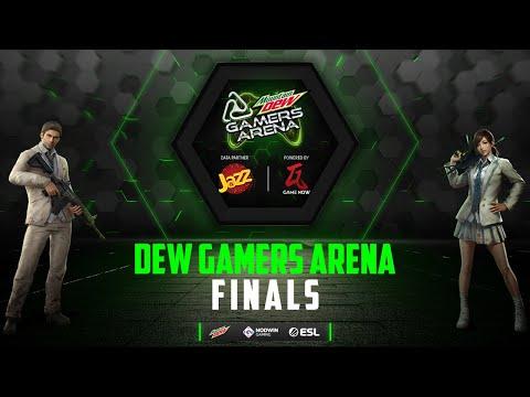 Dew Gamers Arena 2020   Grand Finale   PUBG Mobile