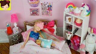 Barbie Jojo Siwa Rutina de Noche - Clase de Baile  & Tareas con Skipper