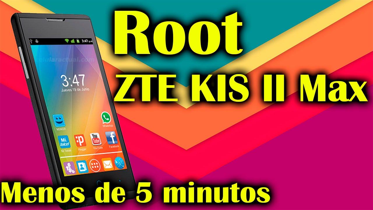 Como hacer Root ZTE KIS II Max |Menos de 5 minutos