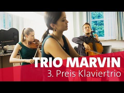 Trio Marvin | Finale Klaviertrio| ARD-Musikwettbewerb 2018