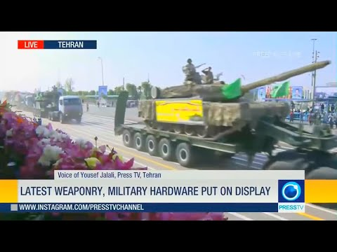 Press TV - Iran Army Day Parade 2018 : Full Army Assets Segment [720p]